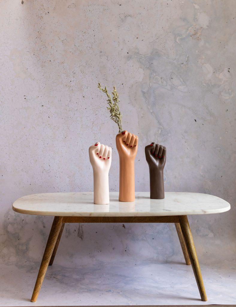 Girl Power Vases April and the Bear Dublin
